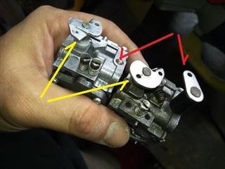 アクアスクーターのキャブ交換 (3).JPG