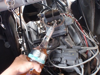 燃料抜けててポンプで吸上られず・・直入.JPG